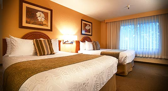 double bed  - chico ca hotel