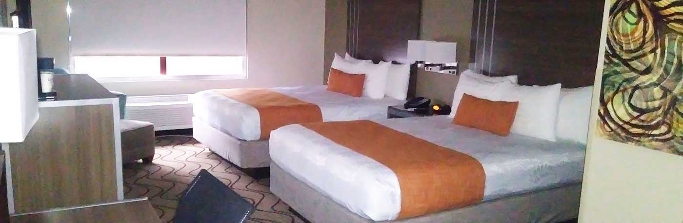 Newly remodeled hotel with comfortable guest rooms